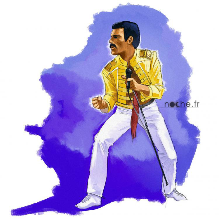 Freddy Mercury - Editions Fuzeau